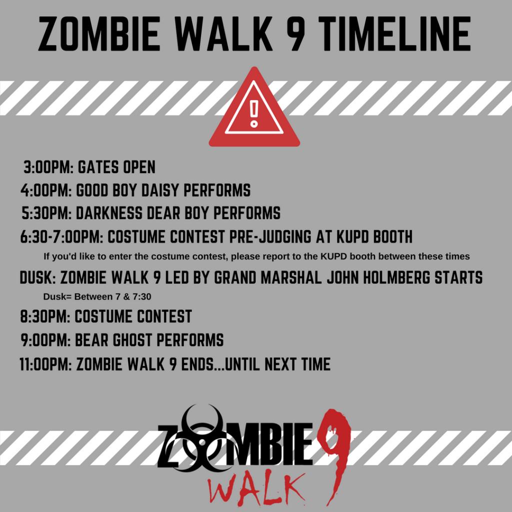 Zombie Walk 9 Timeline (1)